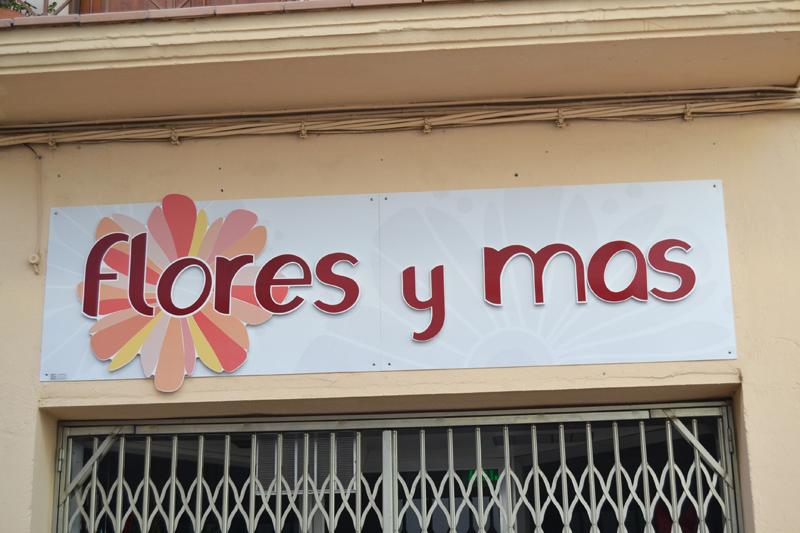 CARTELERIA DE GRAN TAMANO Binefar Flores y mas